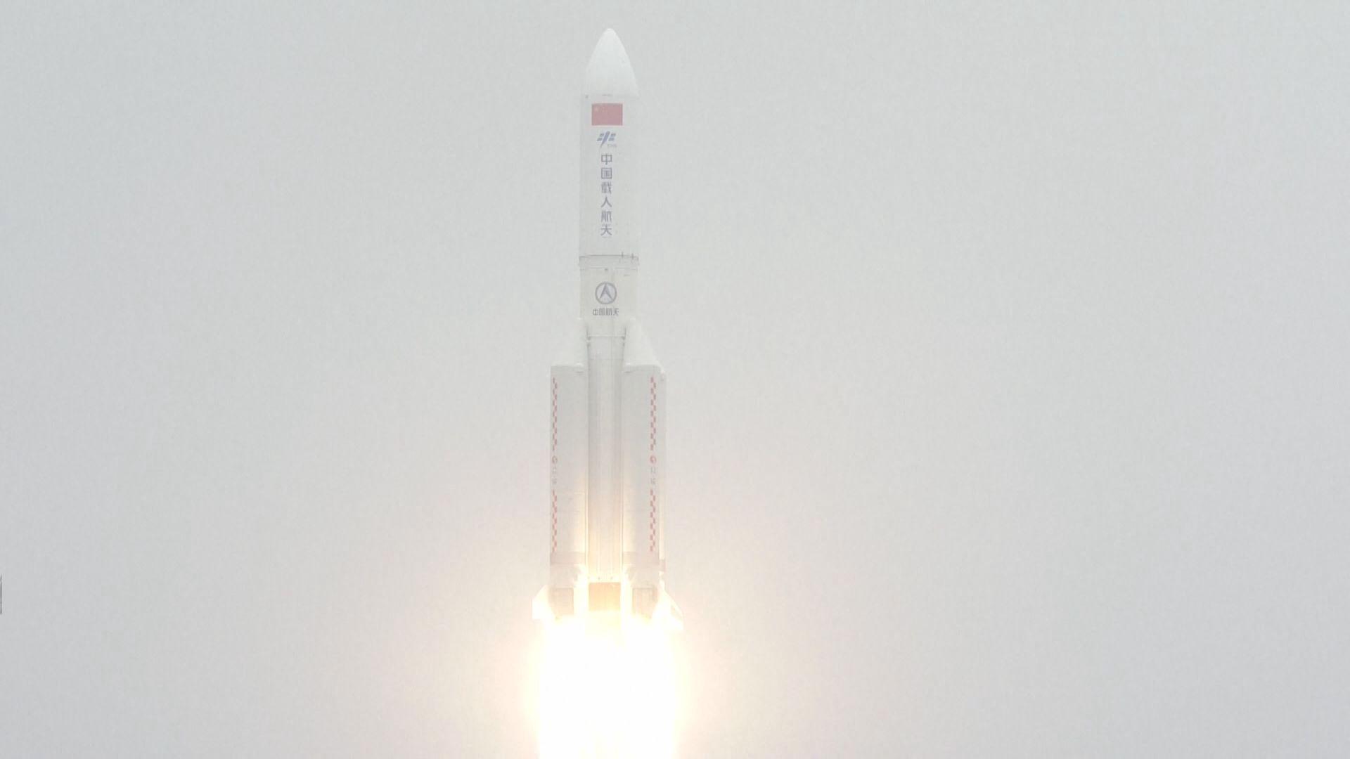 中國天宮太空站「天和」核心艙升空入軌 習近平致賀電祝賀