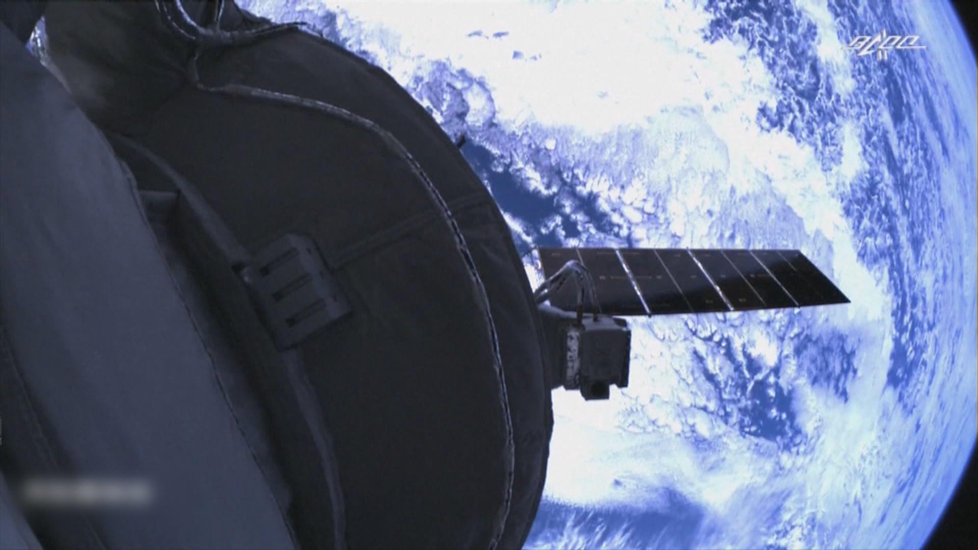 神舟十三號太空人進駐天和核心艙