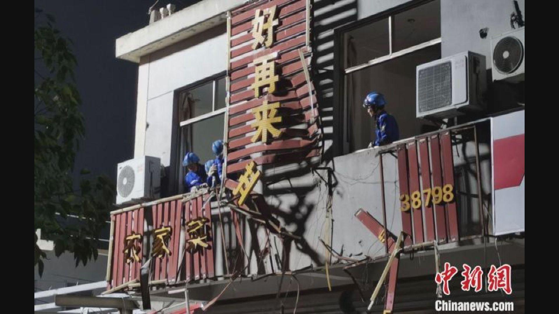 龍捲風襲湖北江蘇最少十死 武漢機場逾30航班取消