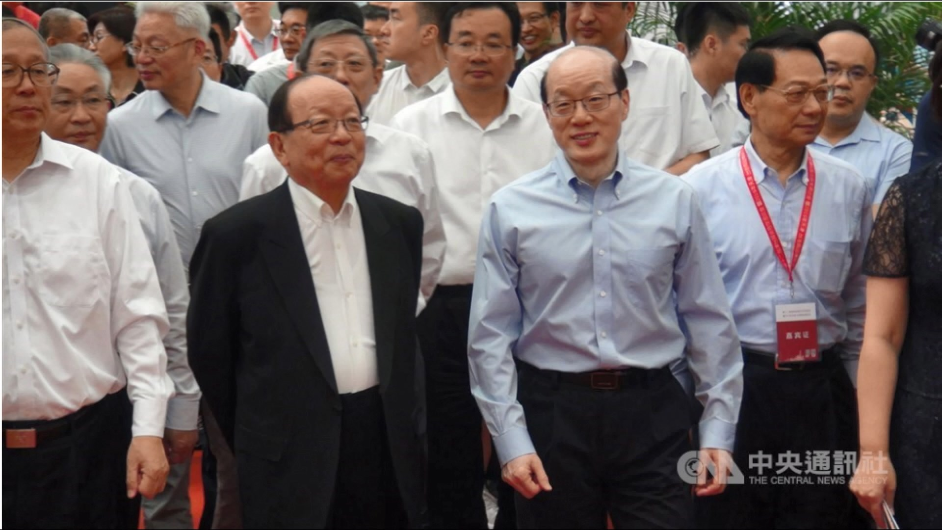 國台辦主任:與台灣政治人物達成共識