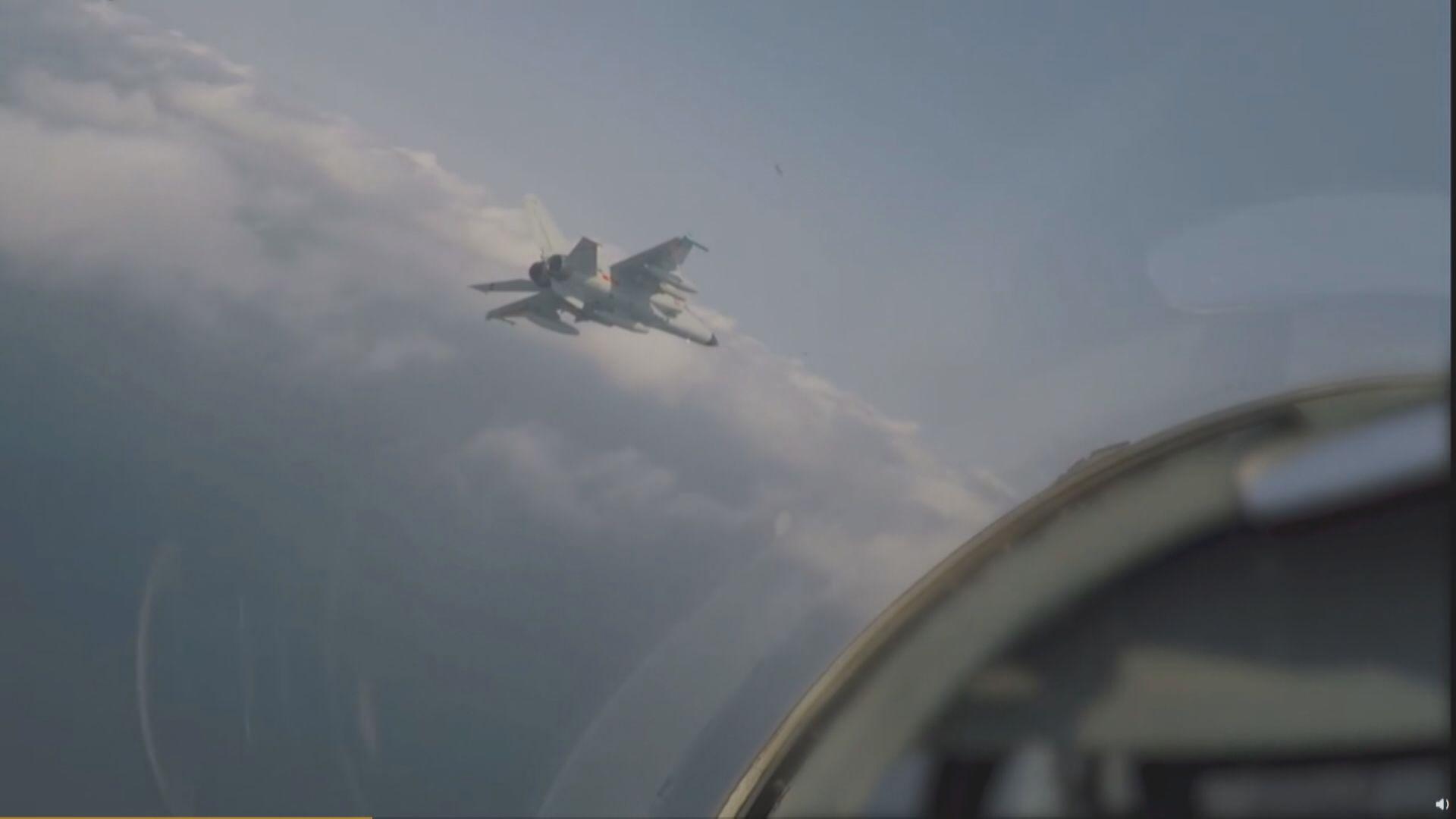 再有解放軍軍機進入台灣西南空域