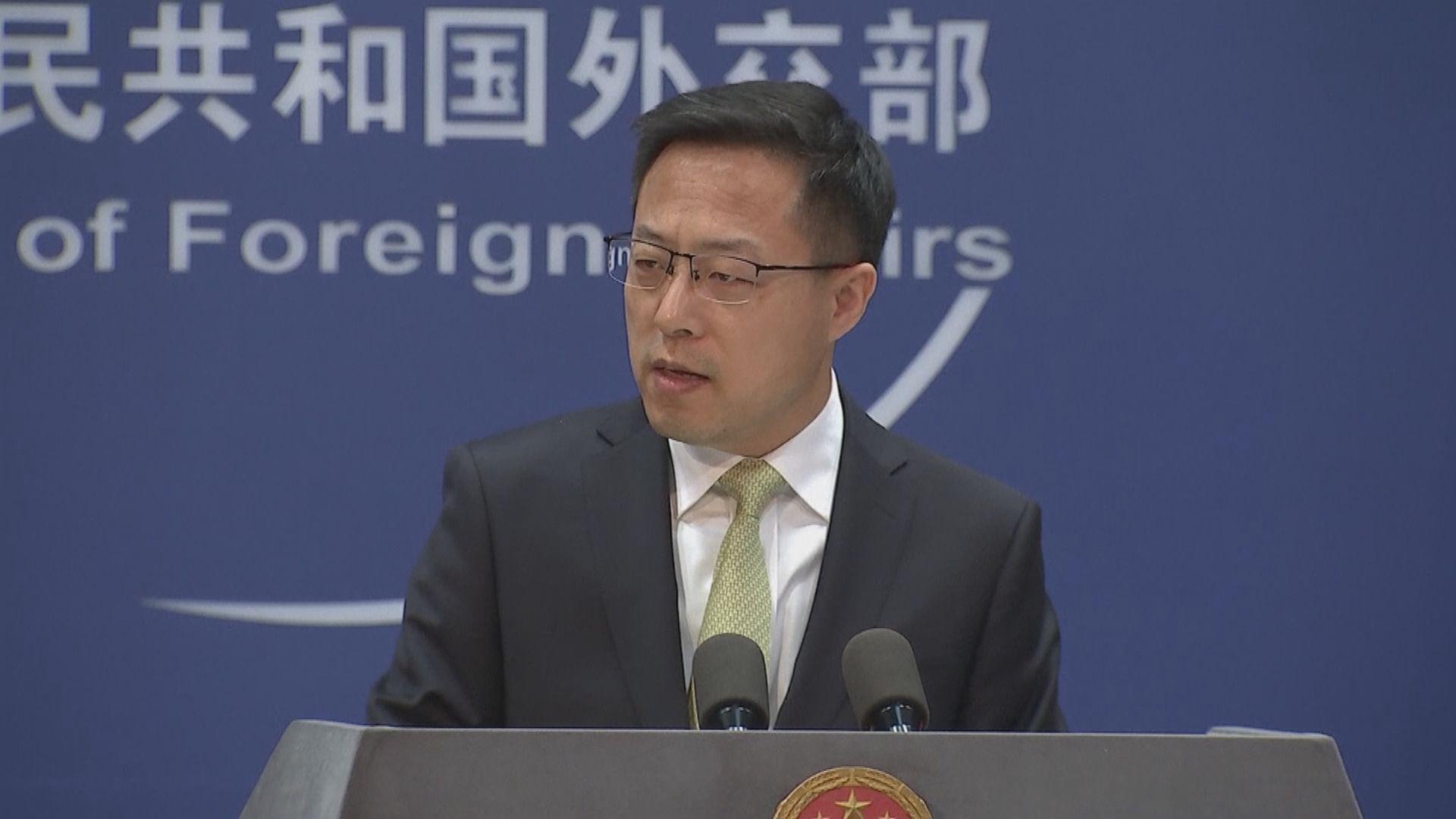 外交部:中美合作不是「溫室裡的花朵」