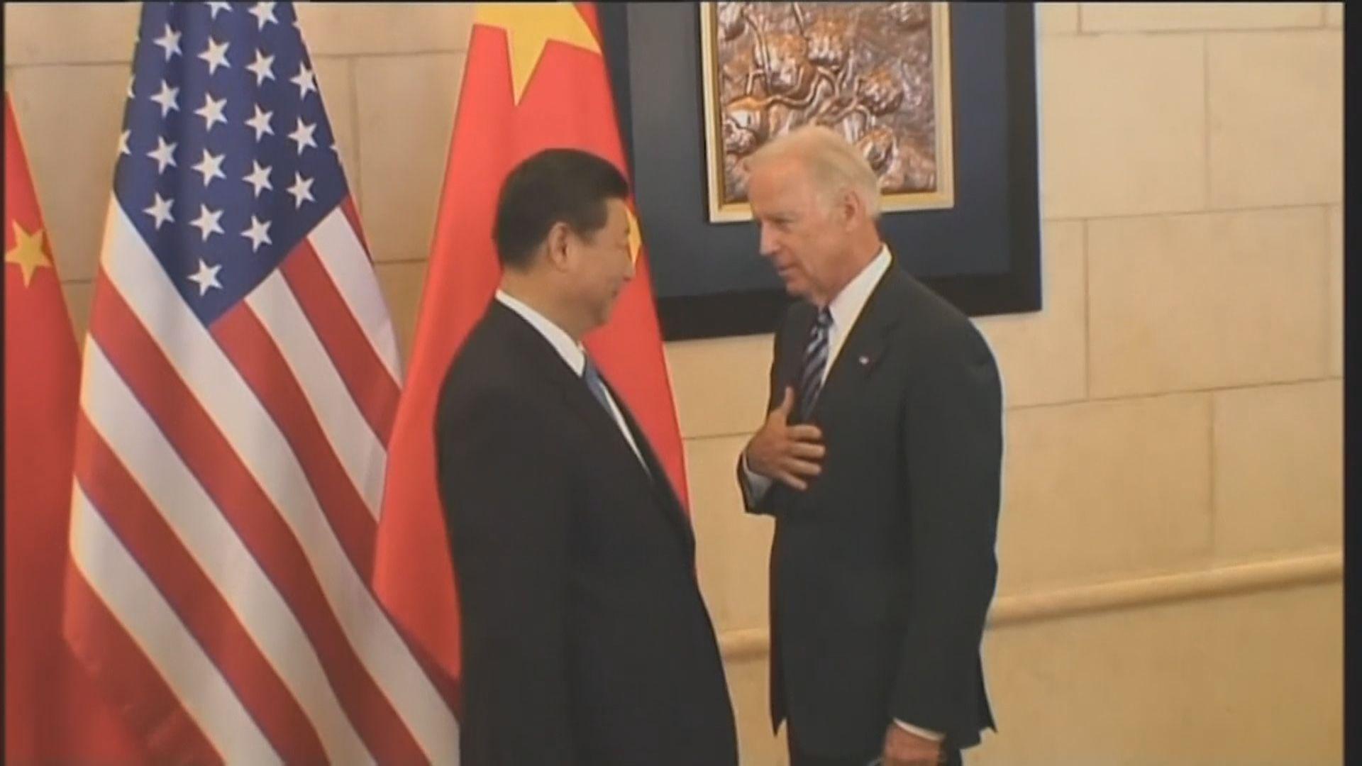 中美領導人通話 習近平望美方謹慎處理中國主權問題