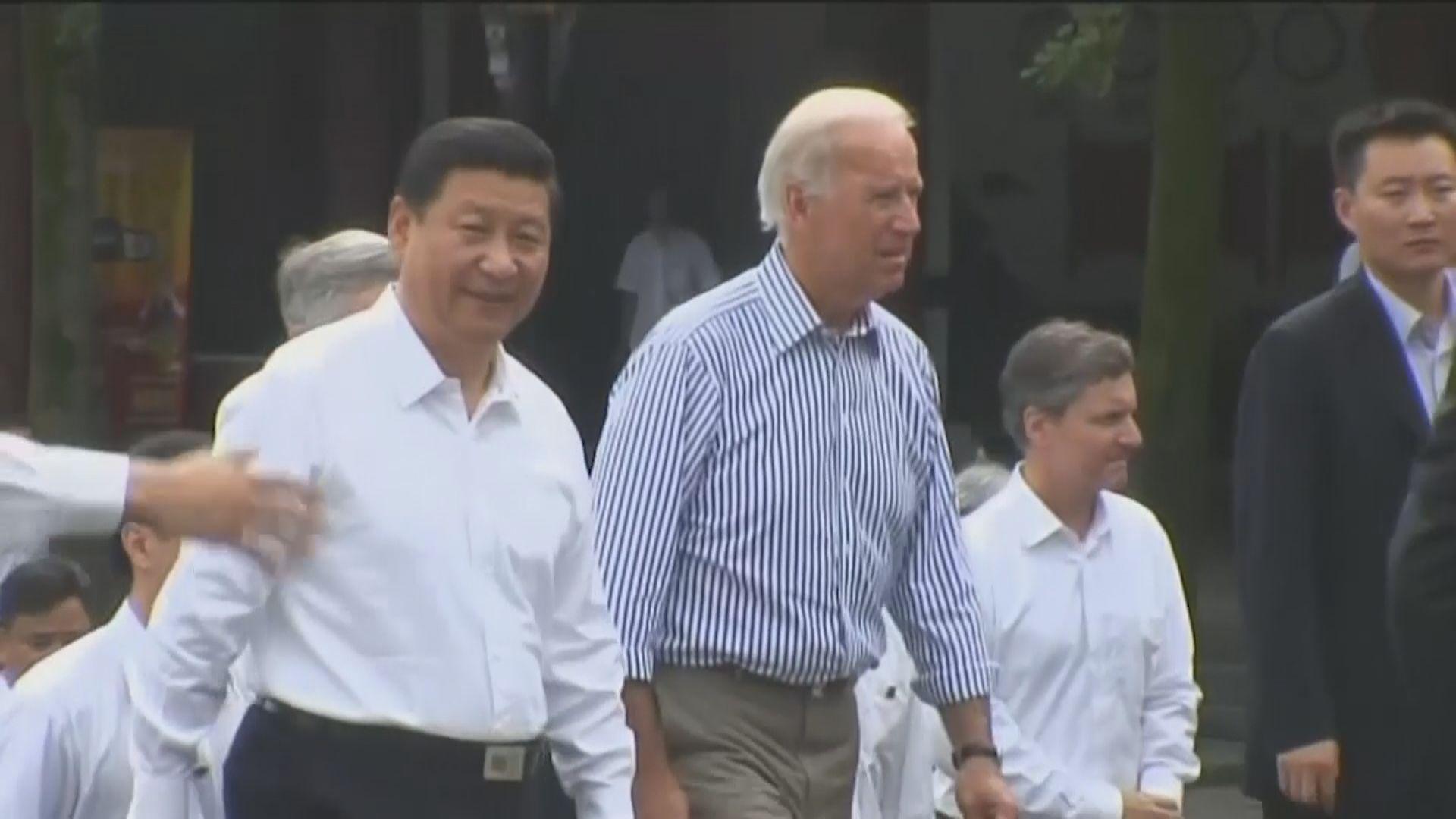 中美領導人對話 習近平稱中美關係正處於重要關口