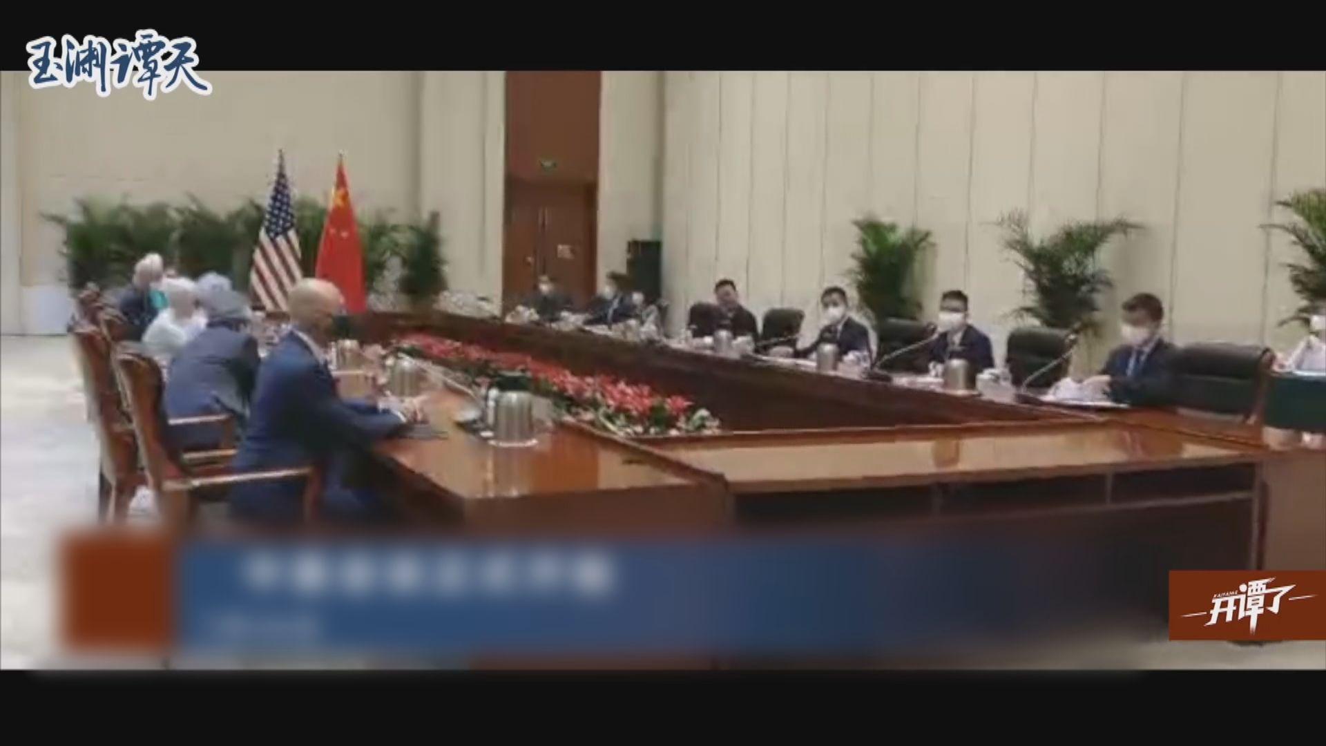 副外長謝鋒會晤美副國務卿舍曼 指中美關係陷僵局因美國有人把中國視作假想敵