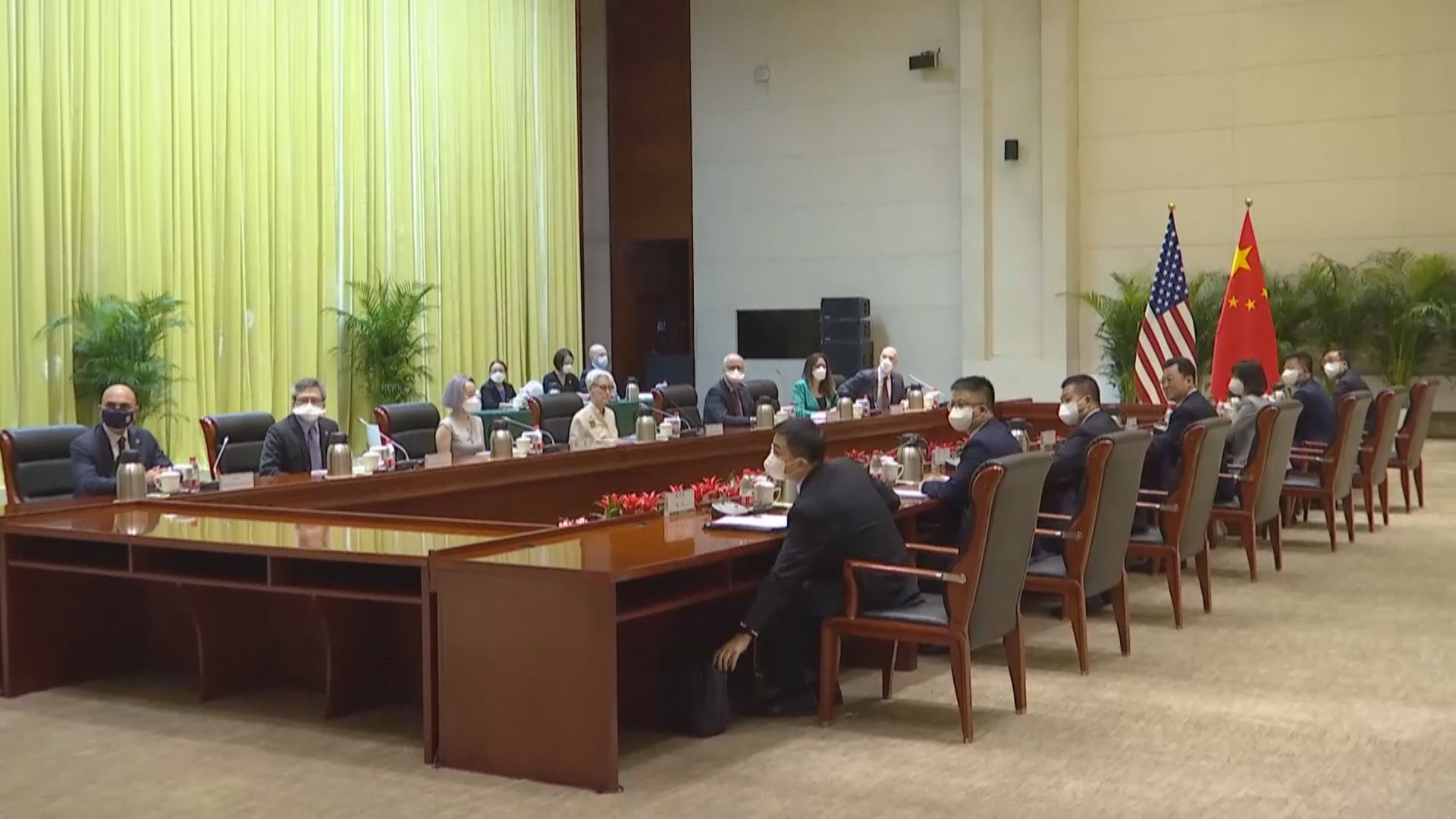 副外長謝鋒會晤美國副國務卿舍曼