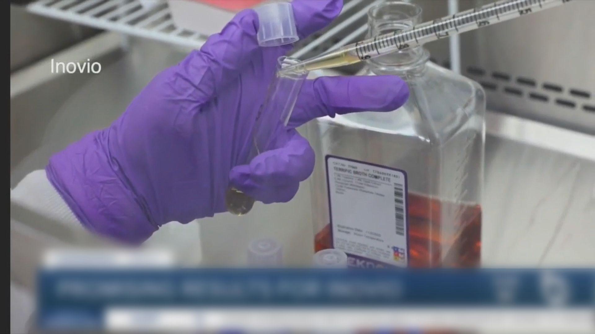 中美有公司合作研發新冠DNA疫苗 保質期可達五年