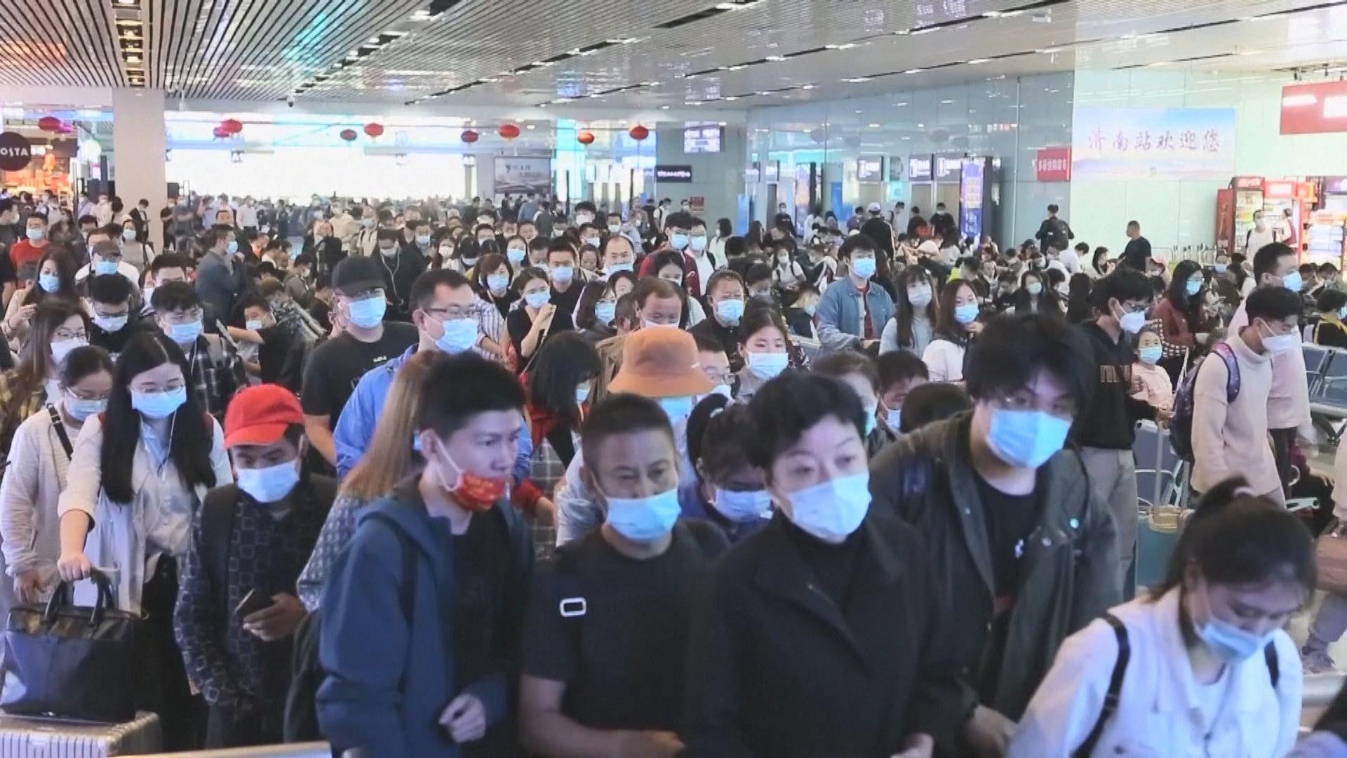 國慶假期將至 衞健委提醒旅客做好疫情防控措施