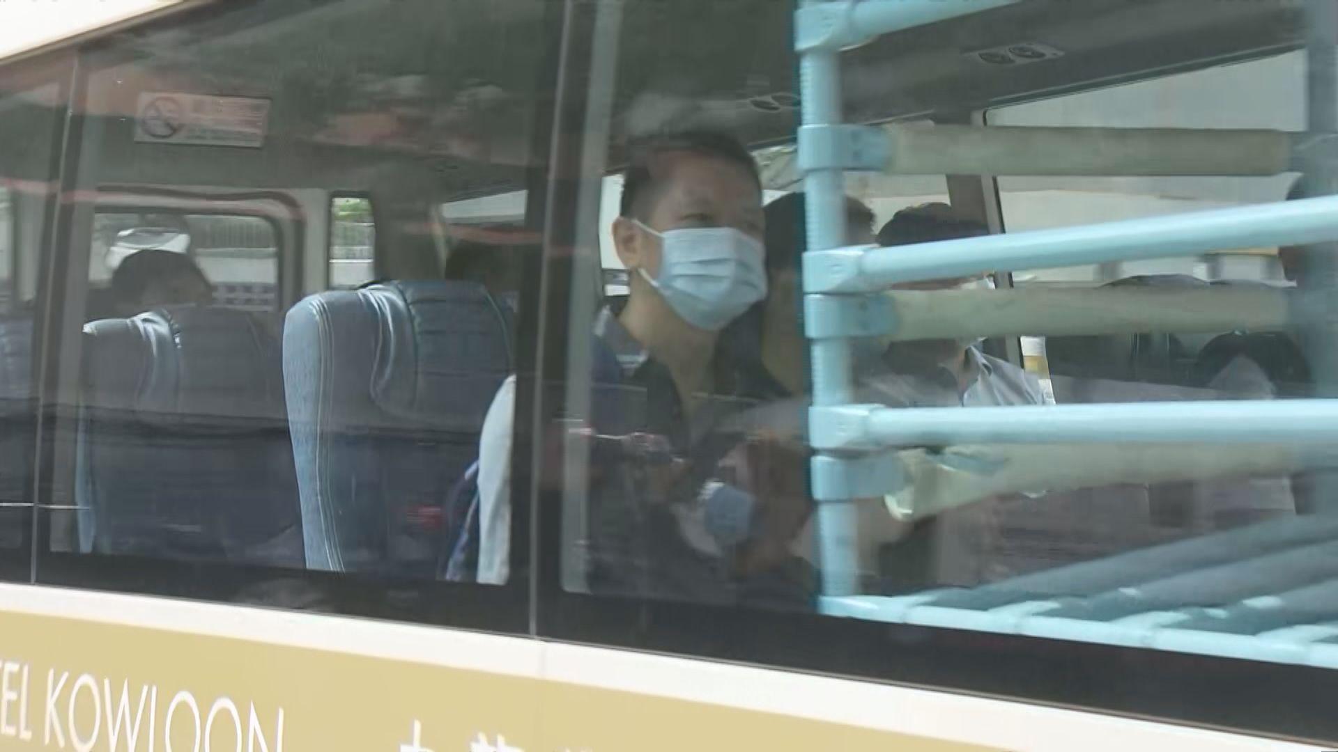 內地核酸檢測支援隊先遣隊員到華昇診斷中心視察