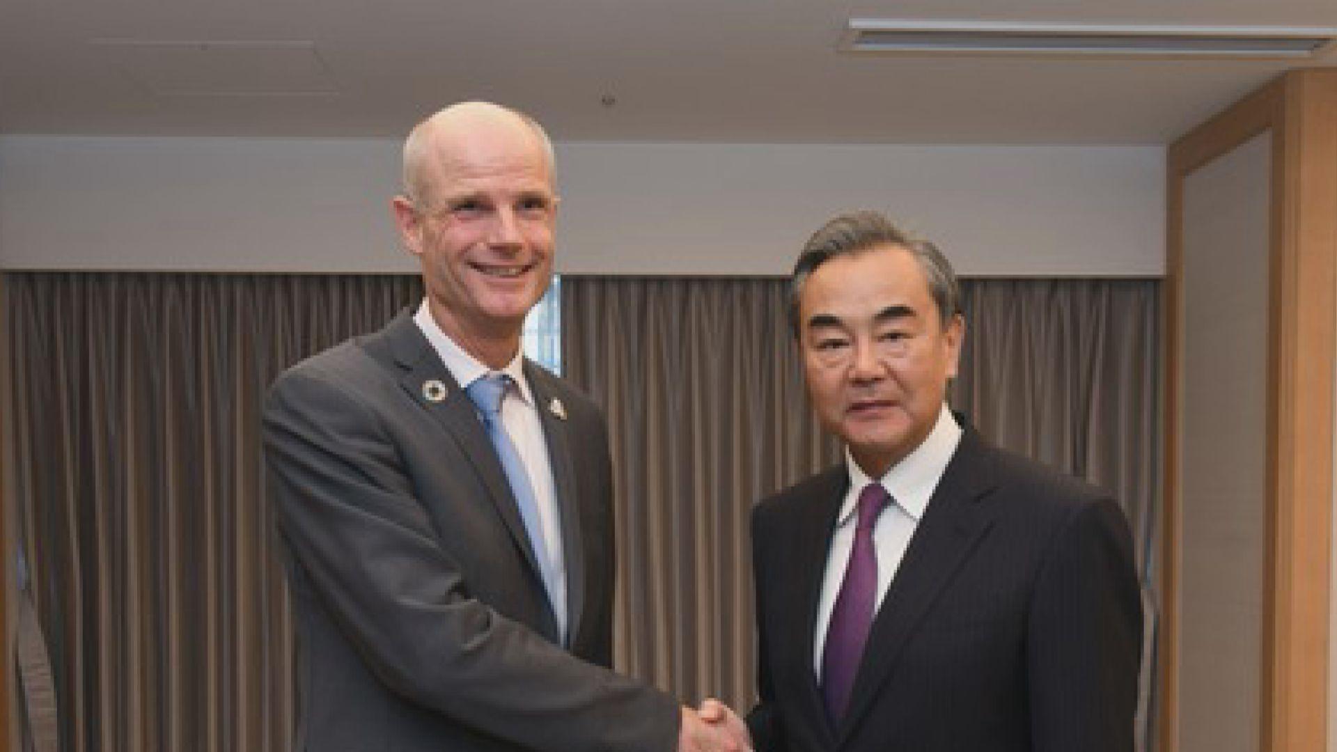 王毅批美國藉香港事務粗暴干涉中國內政