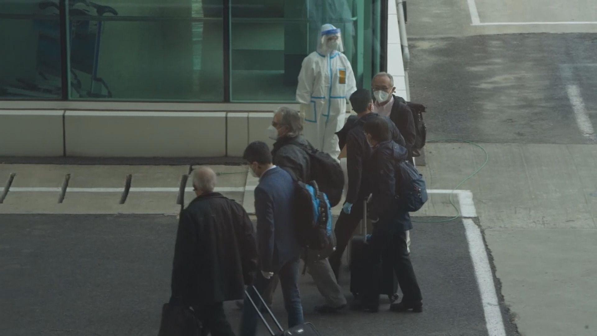 世衛疫情溯源專家組抵達武漢 料逗留一個月