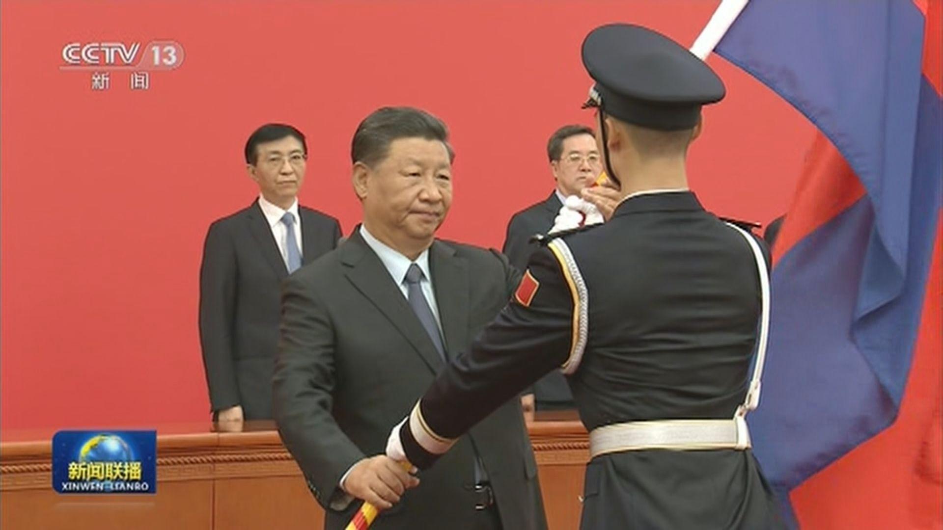 習近平讚揚中國人民警察為維護人民利益作出重大貢獻