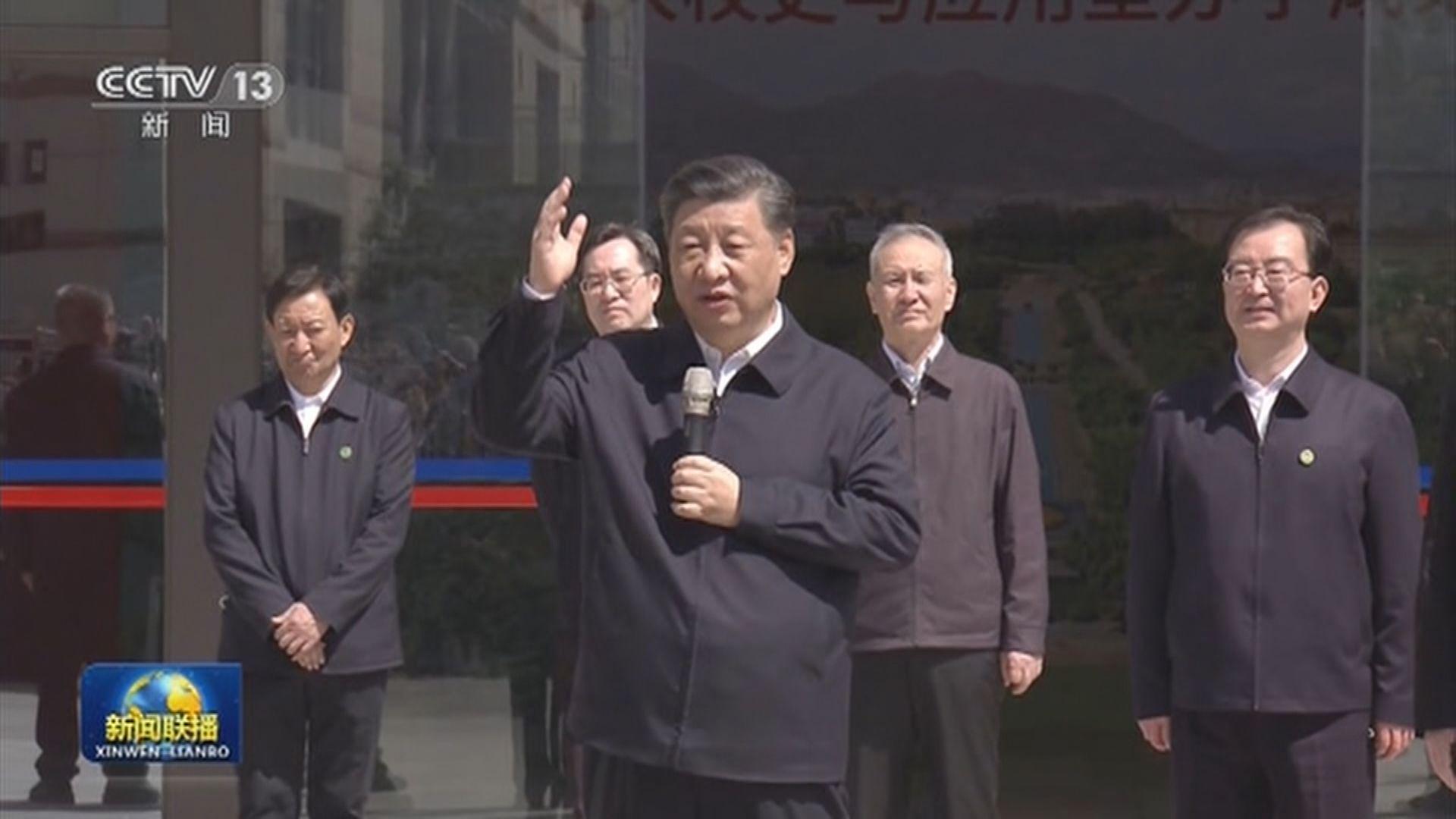 習近平:落實黨中央決策部署 穩中求進工作總基調