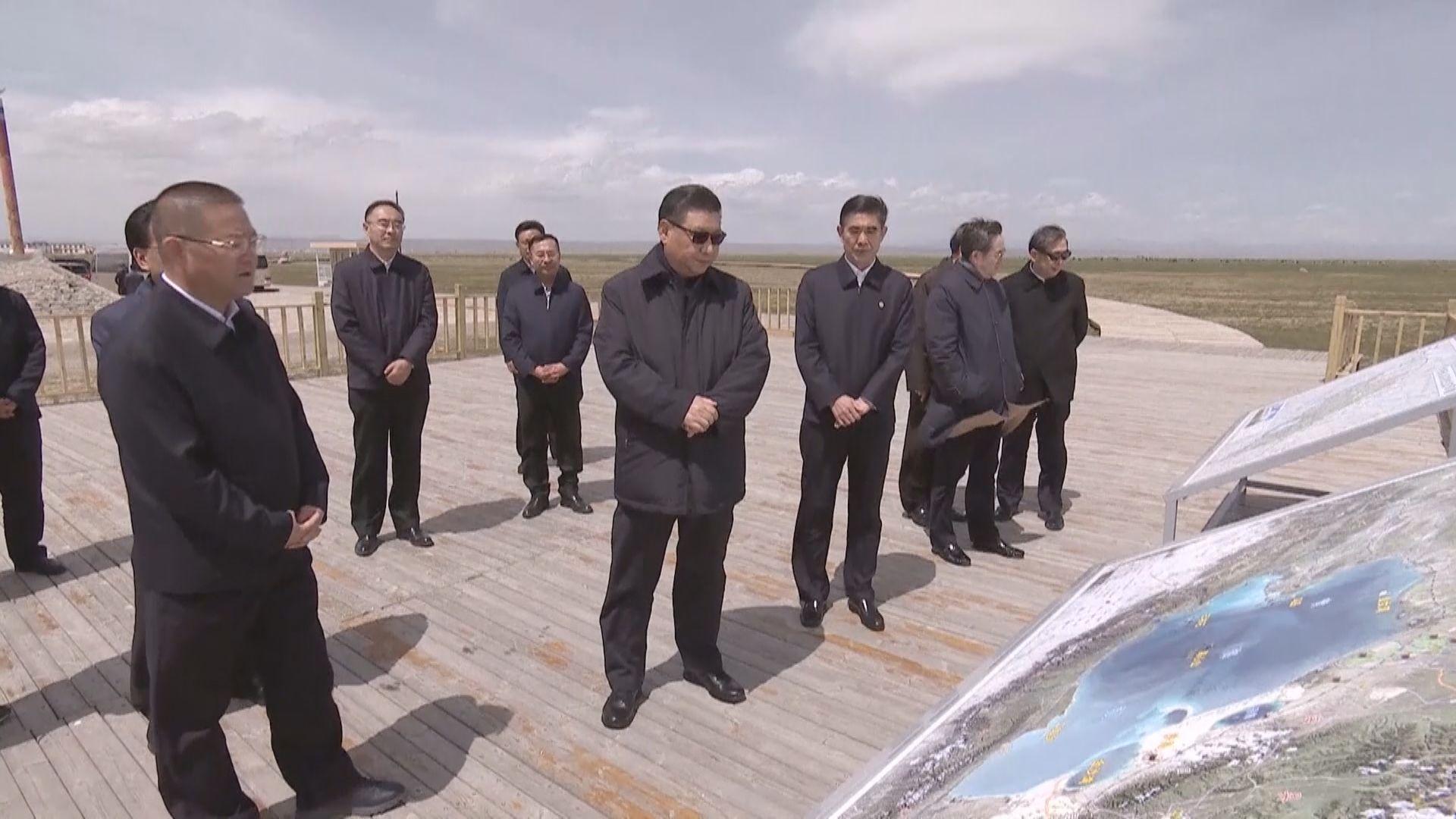 習近平視察青海湖 強調要保護生態資源