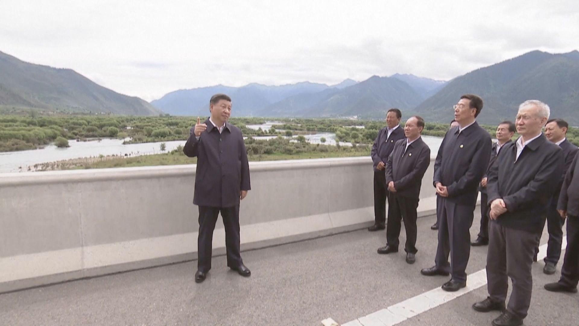 習近平到西藏考察調研 為接任國家主席以來首次