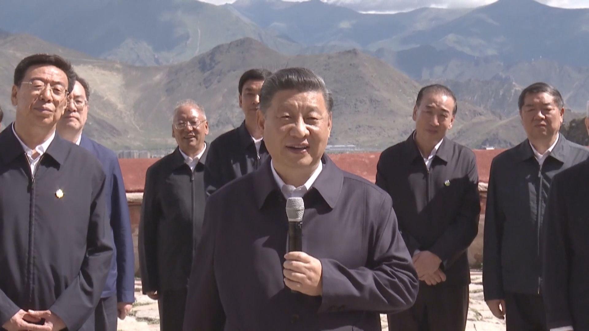 習近平到西藏考察調研 指中央於西藏工作方針完全正確