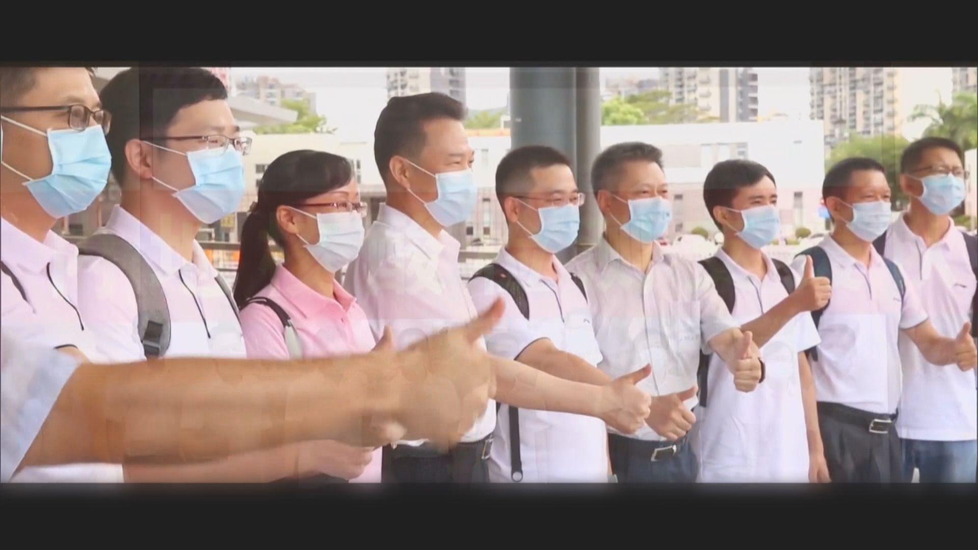 內地核酸檢測支援隊:遵守香港法律法規下開展工作