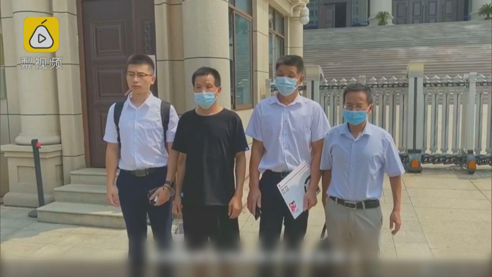 江西男子坐近27年冤獄 獲賠496萬元