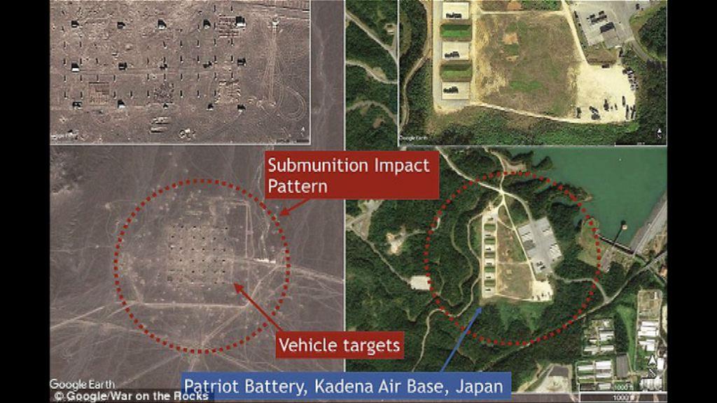中國導彈試驗場建模擬美軍駐日基地設施