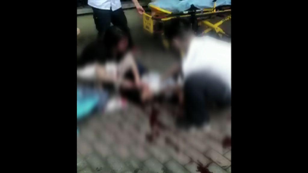 上海男子持刀學校外斬死兩學生