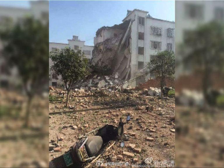 廣西柳城縣連環爆炸疑涉包裹快遞