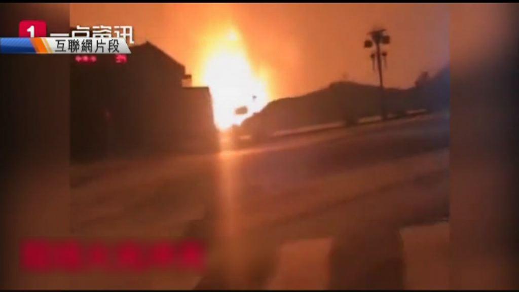 貴州有天然氣管道爆炸逾廿人傷