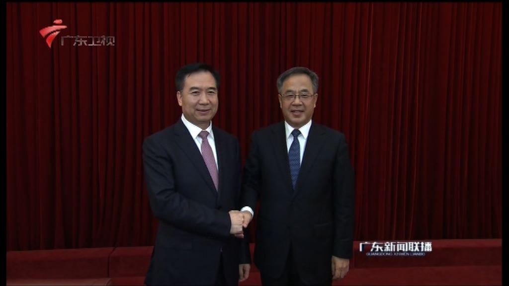 李希接替胡春華任廣東省委書記