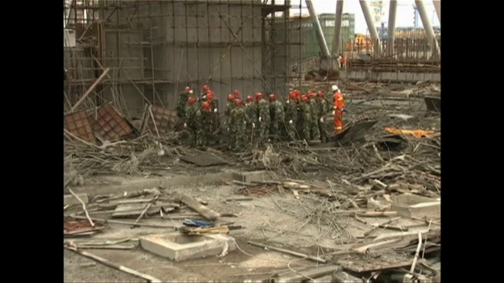 江西電廠施工平台倒塌 習近平要求做好救援