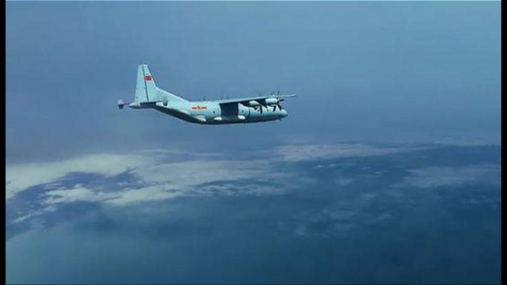 運-9運輸機群赴南海島礁空投演練