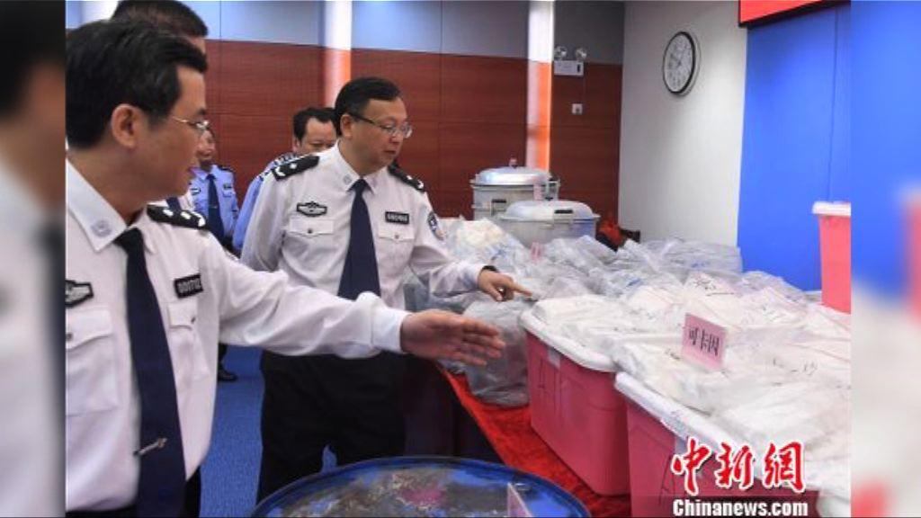 廣東省公安廳搗破跨國販毒集團 九港人被捕