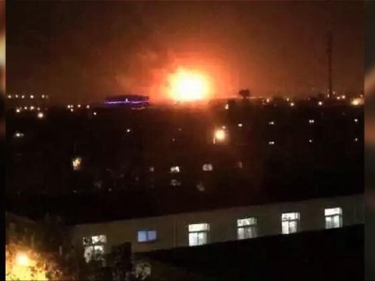 天津北辰區倉庫發生爆炸