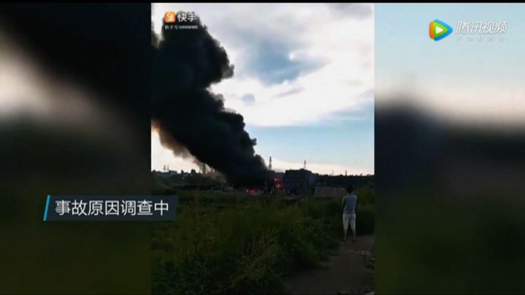 四川化工廠爆炸多人死傷 現場損毀嚴重