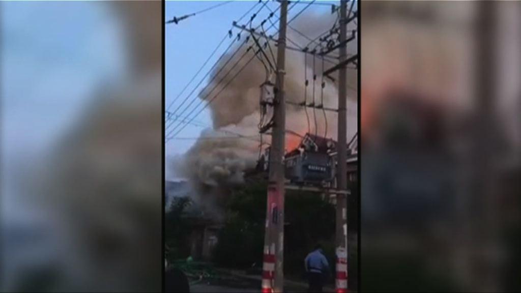 江蘇常熟民房大火 逾廿人死傷