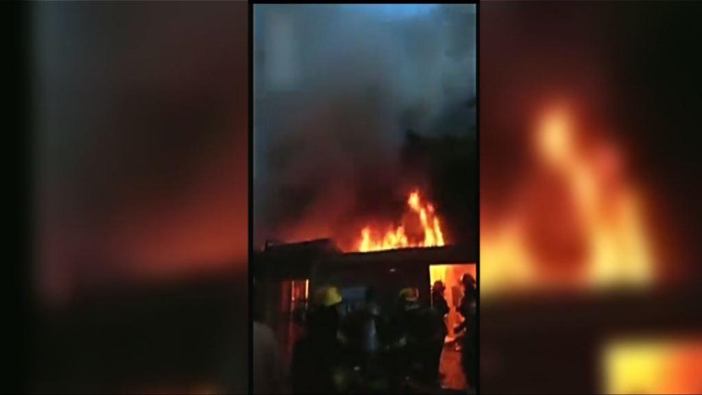 江蘇民房大火22死 當局不排除涉人為因素