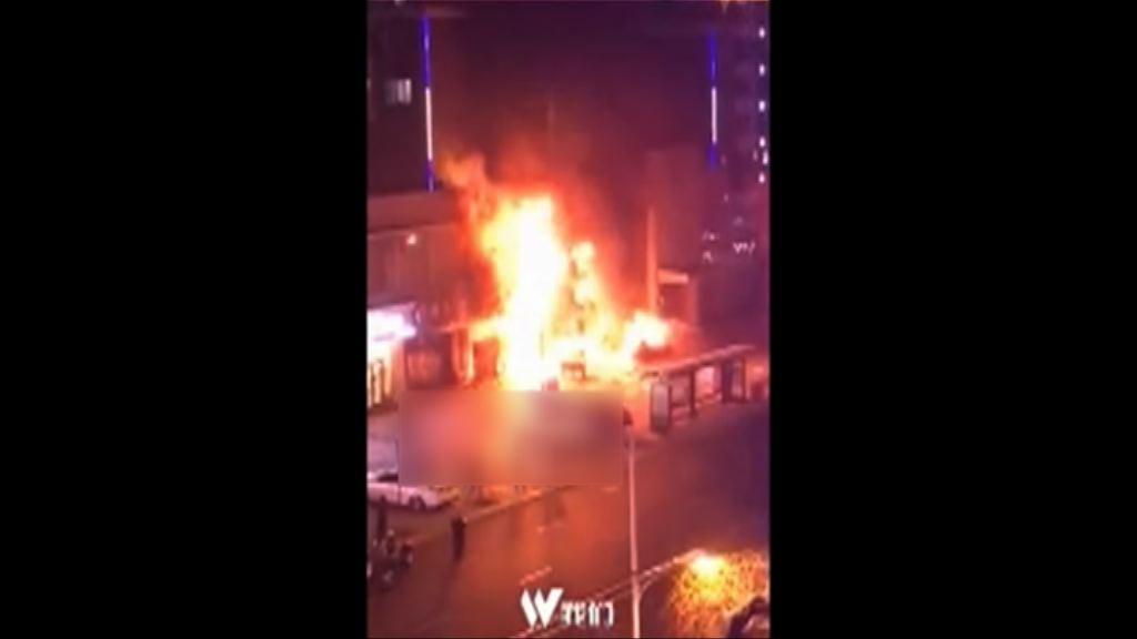 黑龍江燒烤店爆炸十多人傷