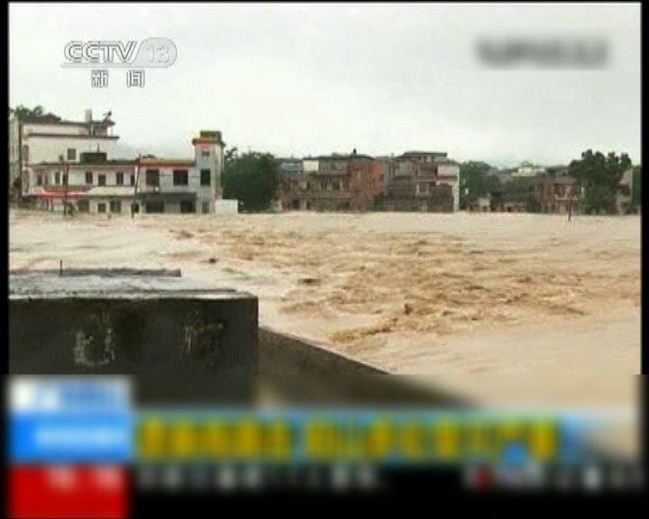 廣東暴雨四十萬人受災