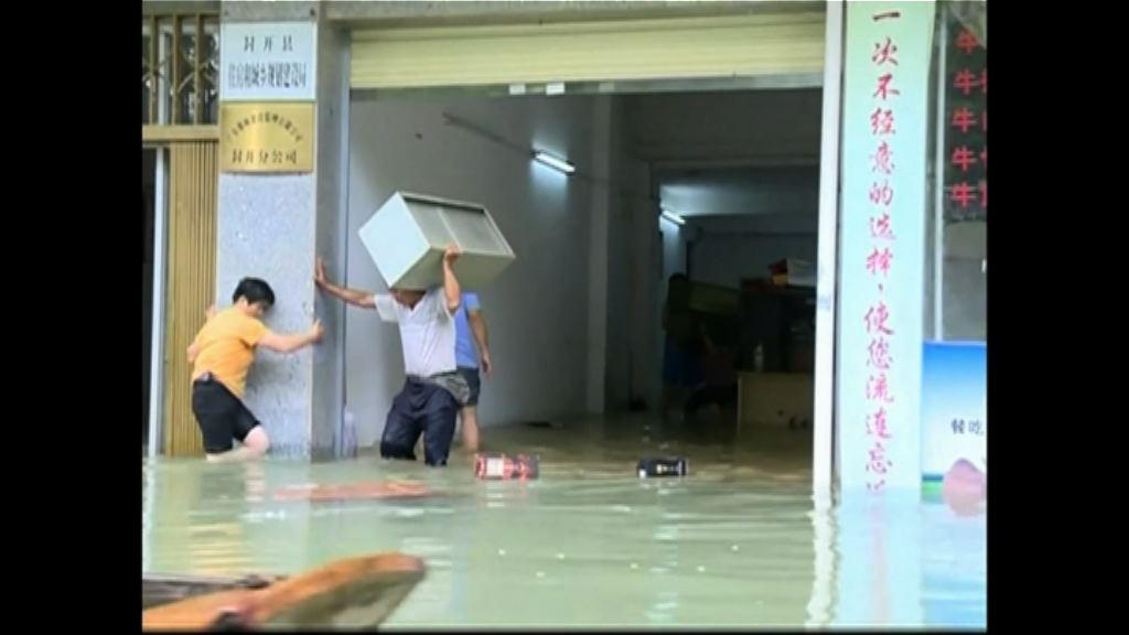 內地南方多地連日暴雨成災