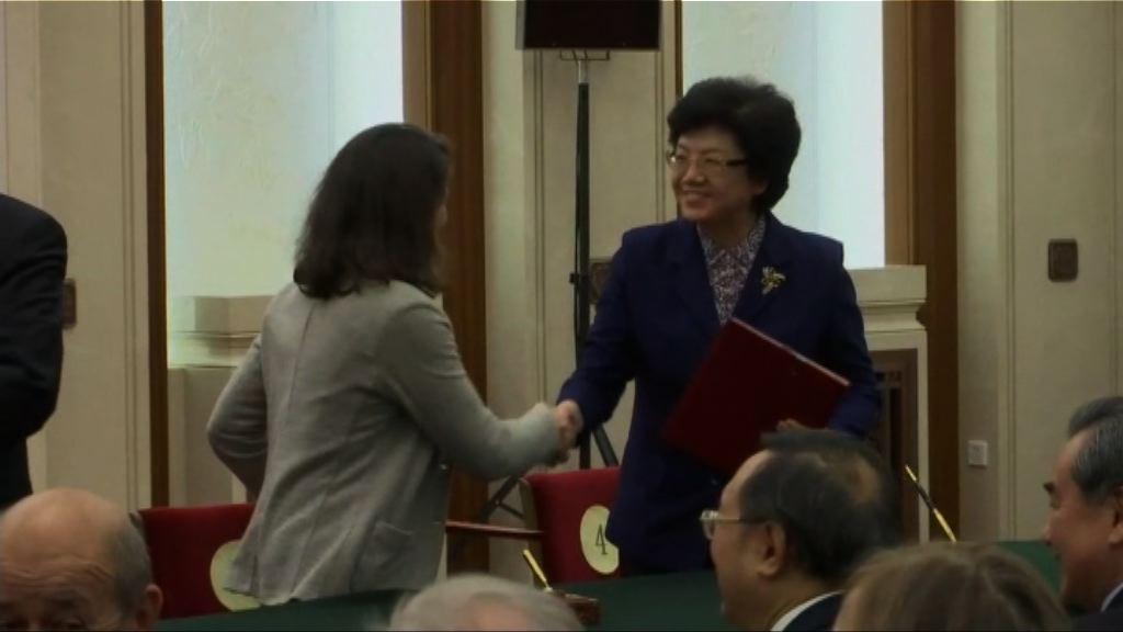 【法總統訪華】中法兩國簽署50項經貿協議