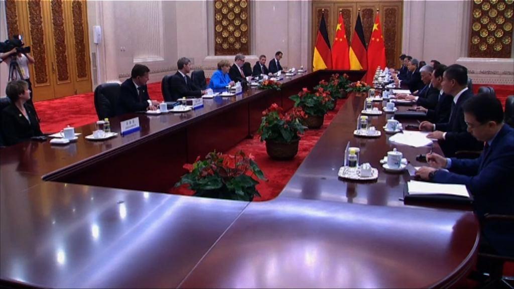默克爾或尋求中國協助抗衡美國
