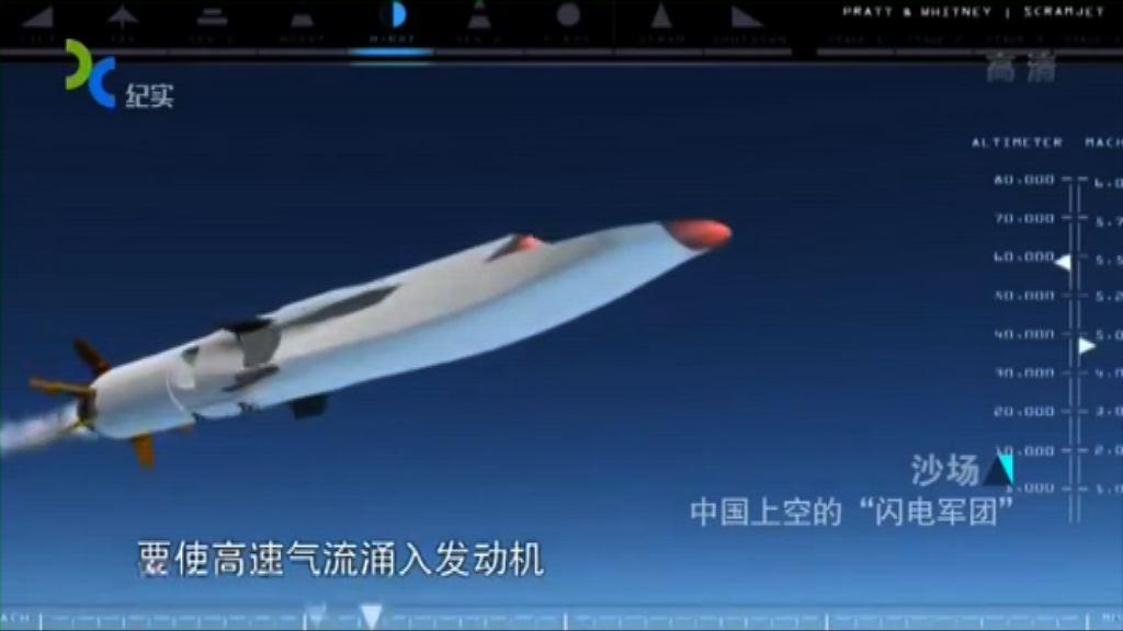中國六次成功測試高超音速飛行器
