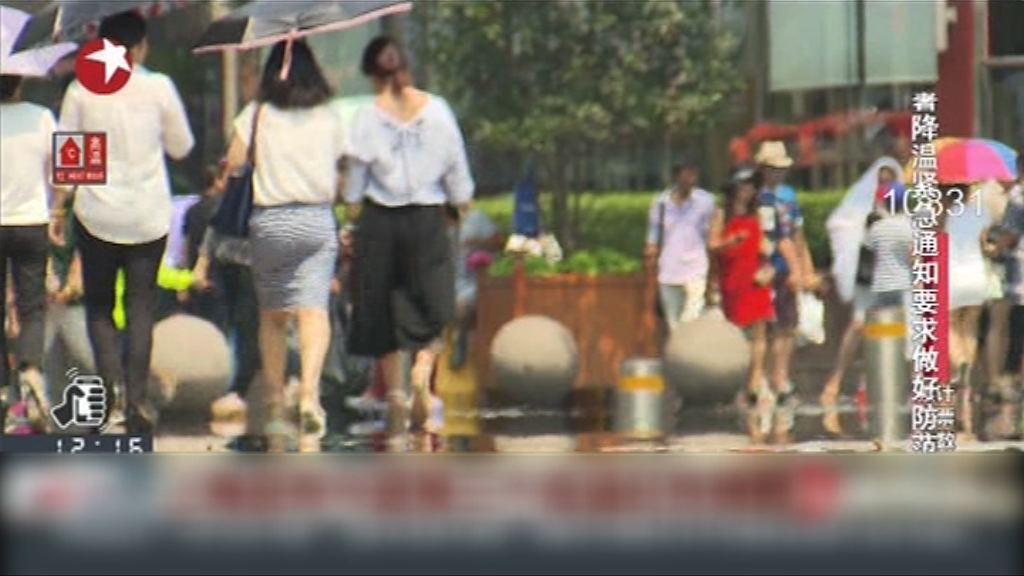 內地多處高溫上海部分地區40度