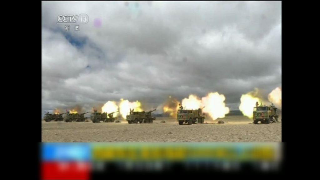 解放軍頻軍演向印度展示軍力