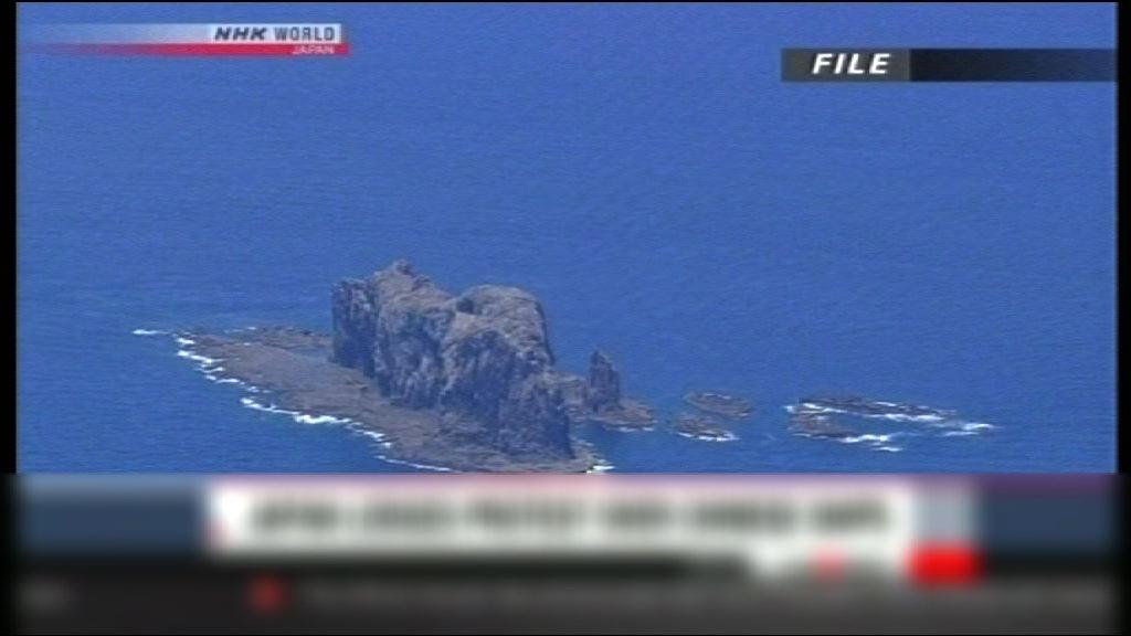 中國海軍全程監控日方在釣魚島活動