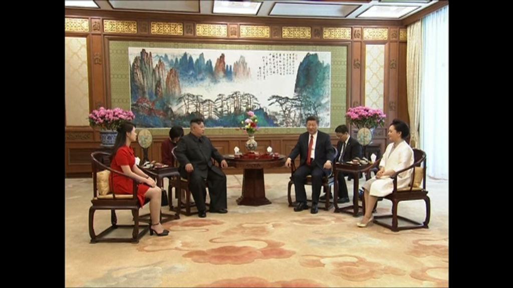 日媒指金正恩稱在中方支持下會分階段無核化