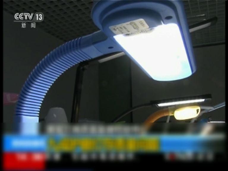 內地護眼枱燈逾九成不符標準