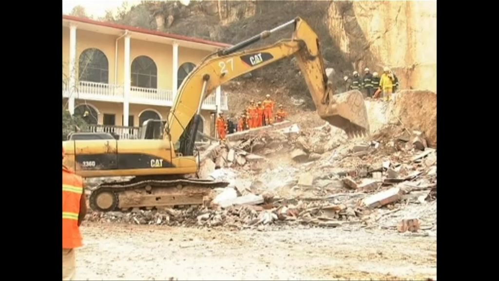 湖北山泥傾瀉埋酒店至少2死
