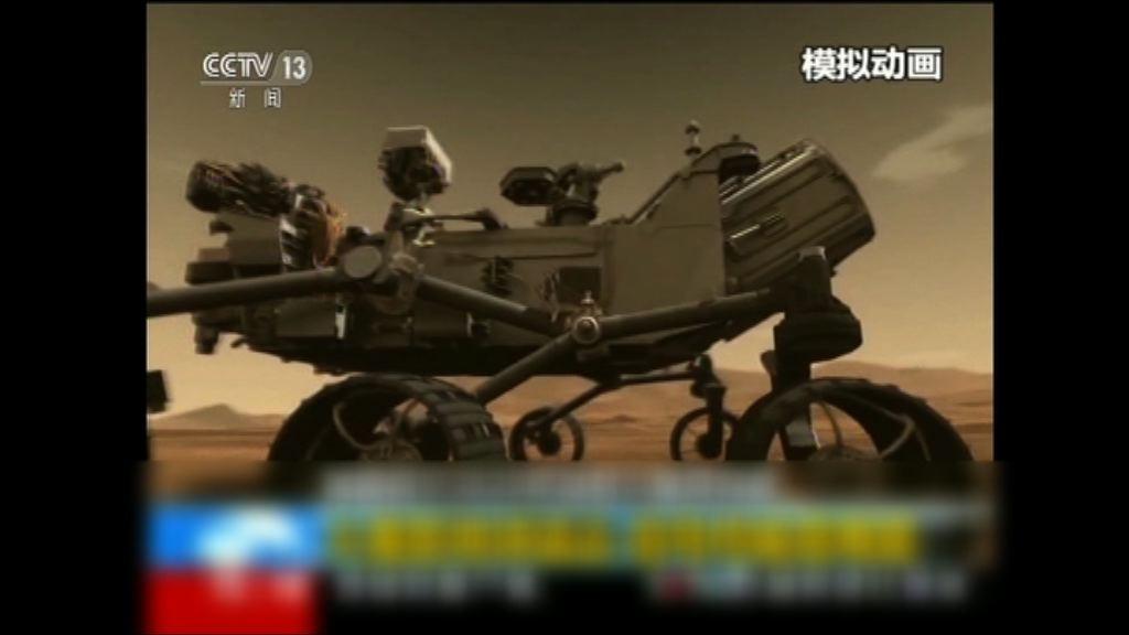 中國首次公布火星探測器設計
