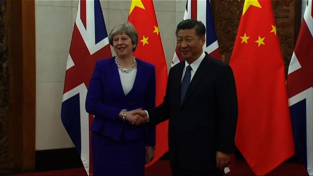 習近平晤文翠珊商討兩國關係