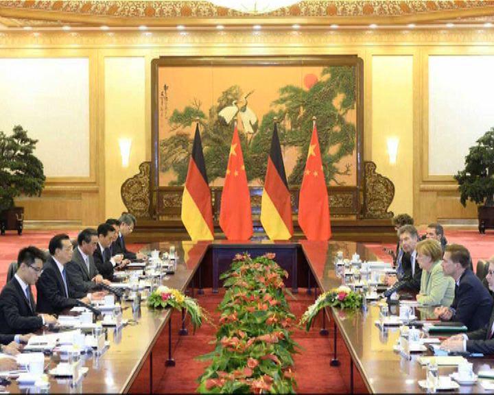 中德同意推全方位戰略夥伴關係