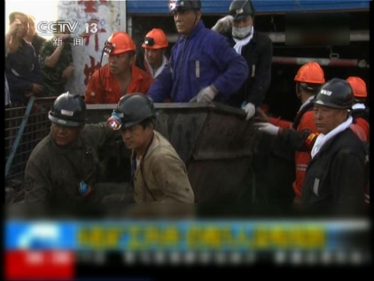 黑龍江煤礦泥石流五人仍失蹤